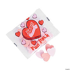 Hard Candy Heart Treat Packs