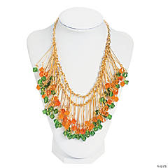Autumn Crystal Bead Necklace Idea