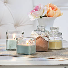 Homemade Jar Candles Idea