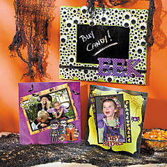 Halloween Kids Mini Scrapbook Pages Idea