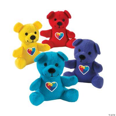 Plush Autism Primary Bears