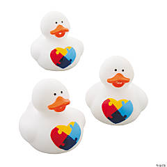 Autism Awareness Rubber Duckies