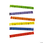 Plastic Smile Face Slap Bracelets