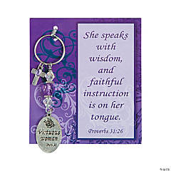 Proverbs 31:26 Key Chain Craft Kit
