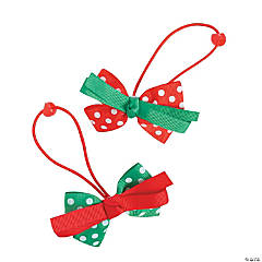 Polka Dot Bow Hair Bands