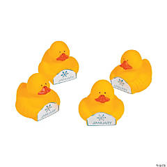 January Rubber Duckies