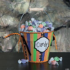Halloween Treat Bucket Idea