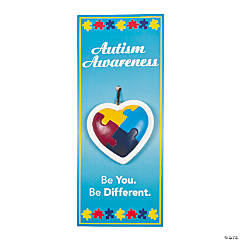 Autism Ornaments on Card