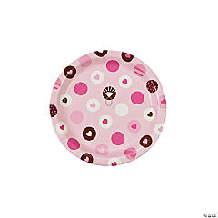 Bride 2 Be Dots Dessert Plates