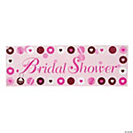 Bride 2 Be Dots Giant Party Banner