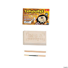 Mini Treasures Gem Stones Excavation Dig Kits