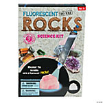 Fluorescent Deluxe Rocks Science Kit