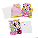 Minnie's Bow-Tique Dream Party Invitations and Thank-You Postcards