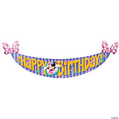 Minnie's Bow-Tique Dream Party Birthday Banner