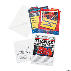 Ultimate Spider-Man™Invitation and Thank You Set
