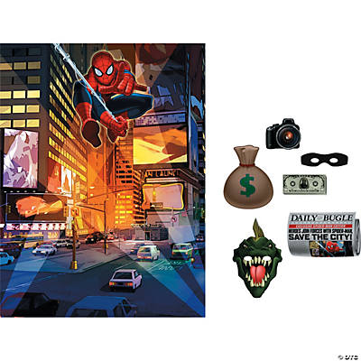 Ultimate Spider-Man™ Backdrop Kit
