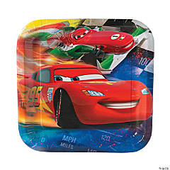 Disney Cars Grand Prix Dream Dinner Plates