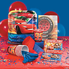 Disney Cars Grand Prix Dream Basic Party Pack