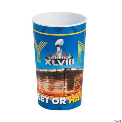 Super Bowl 2014 Plastic Cup