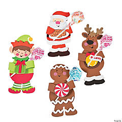 Christmas Character Sucker Craft Kit