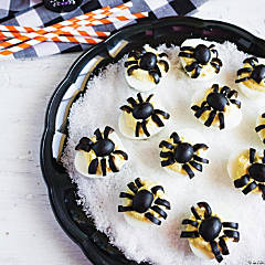 Deviled Egg Spiders Recipe