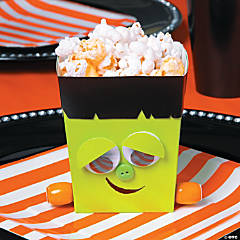 Mini Monster Popcorn Box Idea