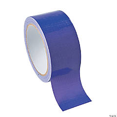 Plastic Adhesive Purple Duct Tape