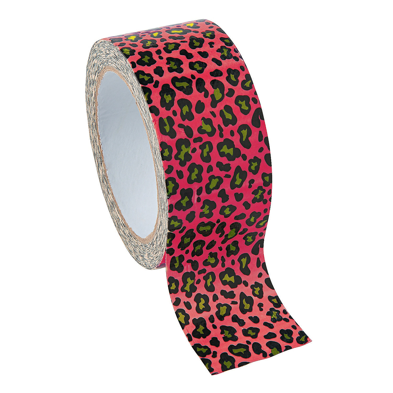 Leopard Print Duct Tape Oriental Trading