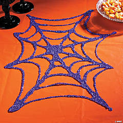 Glitter Spiderweb Idea