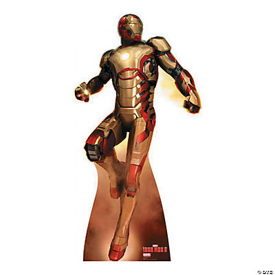 Iron Man 3 Flying Stand-Up, Cardboard Cutouts, Party ...