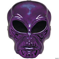 Alien Hockey Purple Mask for Adults