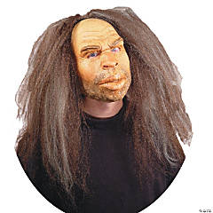 Men's Caveman Mask with Hair