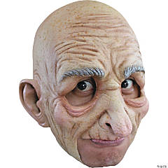 Old Man Chinless Mask for Men