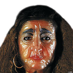 Transparent Old Female Mask
