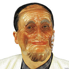Transparent Old Male Mask