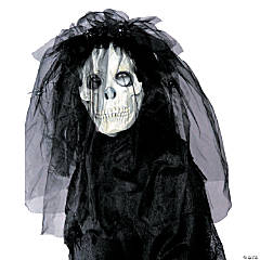 Skull Bride Halloween Mask for Women