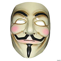 V for Vendetta Halloween Mask for Men