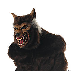 Werewolf Deluxe Mask for Adults