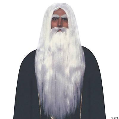 Merlin Beard Wig 13
