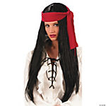 Pirate Wig Long Lady