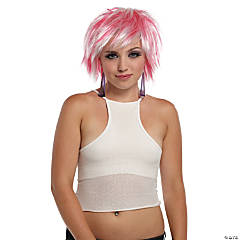Punky Pixie Wig White-Hot Pink