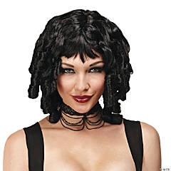 Ghost Doll Black Wig