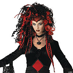 Nightmare Black Widow Wig