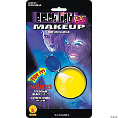 Blacklight Makeup - Yellow Glow