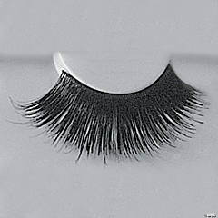 Eyelashes Black with Adhesive 199