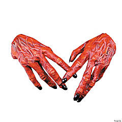 Latex Devil Hands