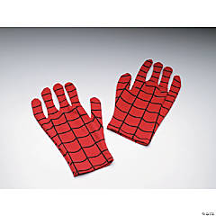 Spiderman Gloves Adult Comic Version