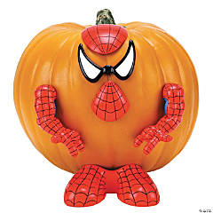 Spider-Man Pumpkin Push-Ins