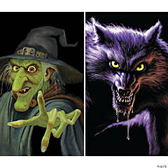 Wiley Witch & Werewolf Windows