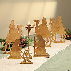 Tabletop Nativity & Wise Men Set